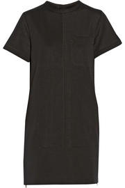 Proenza Schouler Textured cotton-blend neoprene mini dress
