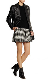 Proenza Schouler Flocked tweed shorts