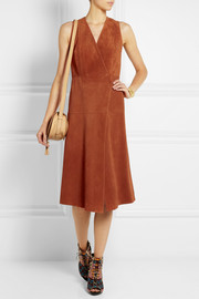 Proenza Schouler Suede wrap dress