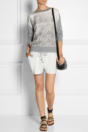 Elizabeth and James Darnell stretch-twill shorts