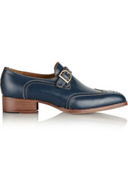 See by Chloé Monk-strap leather brogues