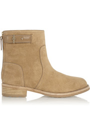 Tory Burch Selena suede ankle boots