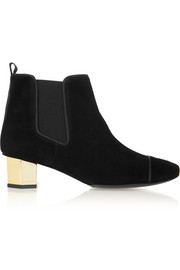 Tory Burch Regina suede ankle boots