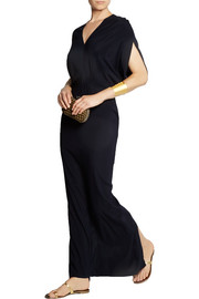 Zero+MariaCornejo Long Reni stretch-silk chiffon maxi dress