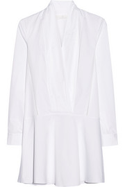 Thakoon Addition Stretch cotton-poplin mini dress