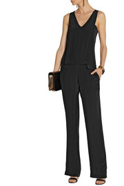Thakoon Addition Silk crepe de chine jumpsuit