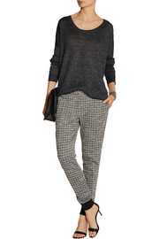Thakoon Addition Patterned ponte tapered pants