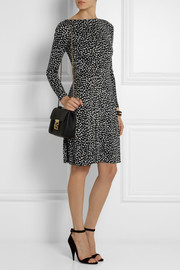 Tory Burch Lori printed silk-jersey dress