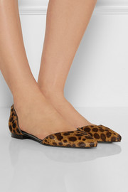 3.1 Phillip Lim Devon animal-print calf hair point-toe flats
