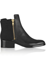3.1 Phillip Lim Alexa leather and nubuck ankle boots