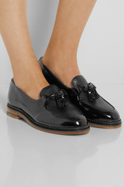 Purified Polly 2 tasseled patent-leather loafers