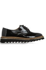 Promo 1 patent-leather brogues