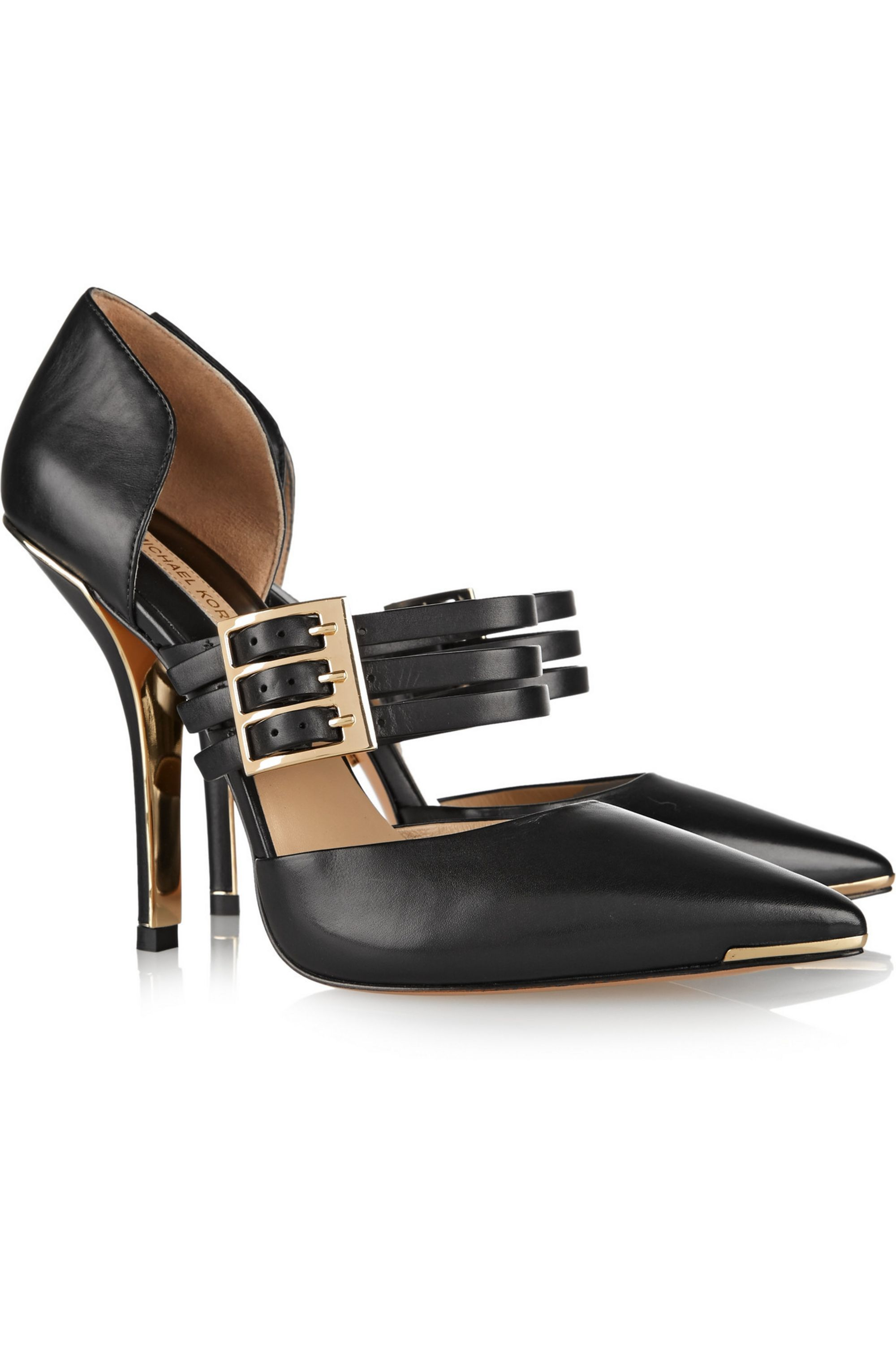 Michael Kors Collection Annalee leather pumps