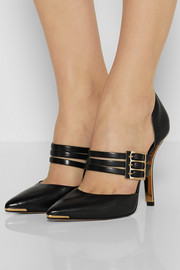 Michael Kors Annalee leather pumps