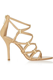 Michael Kors Charlene leather sandals