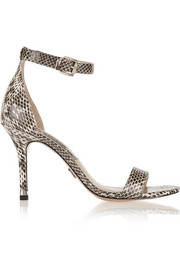 Michael Kors Natasia elaphe sandals