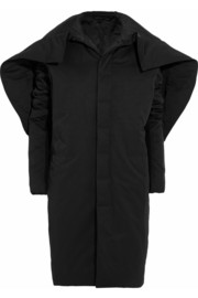 Rick Owens Dagger Murray padded cotton-blend faille coat
