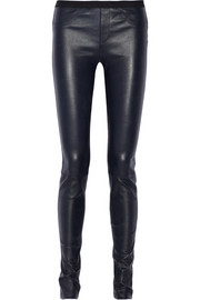 Helmut Lang Stretch-leather leggings
