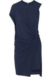 Helmut Lang Twist-front stretch-jersey dress