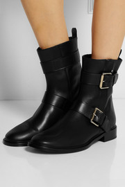 Proenza Schouler Buckled leather ankle boots