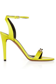 Proenza Schouler Embellished neon leather sandals