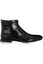 Jil Sander Patent-leather ankle boots