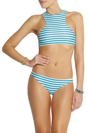 Mikoh Miyako striped bikini briefs