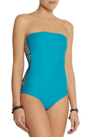 Mikoh Santorini string swimsuit
