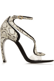 Nicholas Kirkwood Elaphe and acetate sandals