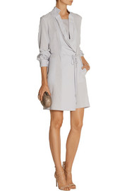 Halston Heritage Voile wrap dress