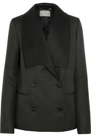 Mulberry Gracie wool and silk-blend blazer