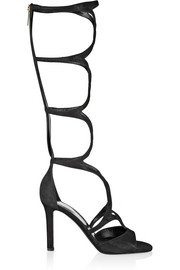 Tamara Mellon Exposure suede gladiator sandals