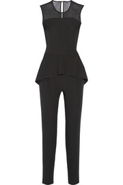 Paul & Joe Charmeur crepe peplum jumpsuit