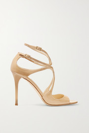 Lang patent-leather sandals