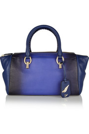 Diane von Furstenberg Sutra small ombré leather duffle bag