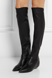 Sigerson Morrison Gan stretch-leather over-the-knee boots