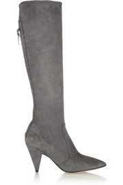 Sigerson Morrison Flore stretch-suede knee boots