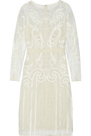 Temperley London Catroux embroidered tulle dress