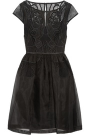 Temperley London Maxime embroidered silk-organza dress