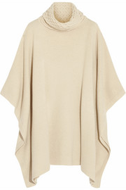 Temperley London Wool turtleneck poncho