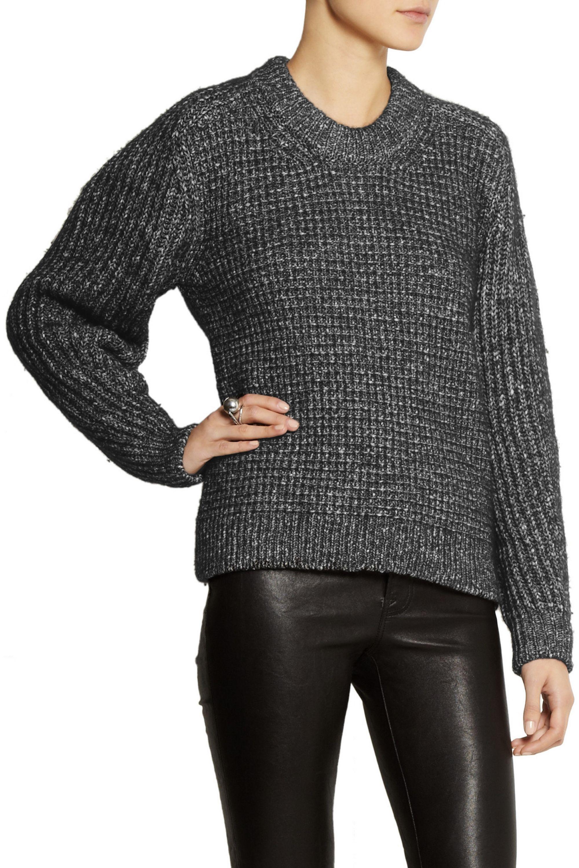 Belstaff Rorrington oversized cotton-blend sweater