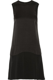 Belstaff Gatwick crepe de chine mini dress