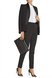 Victoria Beckham High-rise wool tapered pants