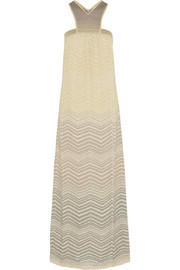M Missoni Crochet-knit maxi dress