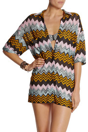 Missoni Crochet-knit coverup