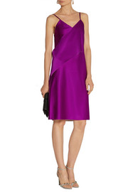 3.1 Phillip Lim Stretch-satin slip dress