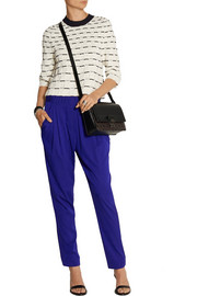 3.1 Phillip Lim Draped silk-blend twill pants