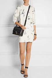 3.1 Phillip Lim Printed cotton-terry mini dress