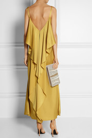 Jason Wu Ruffled satin-crepe gown
