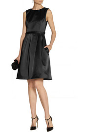 Jason Wu Cotton-blend duchesse-satin dress